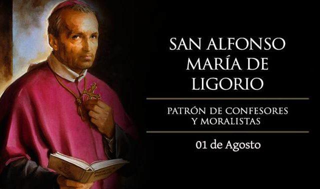 Agosto 1 | San Alfonso