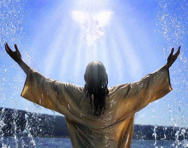 17. Jesús es bautizado