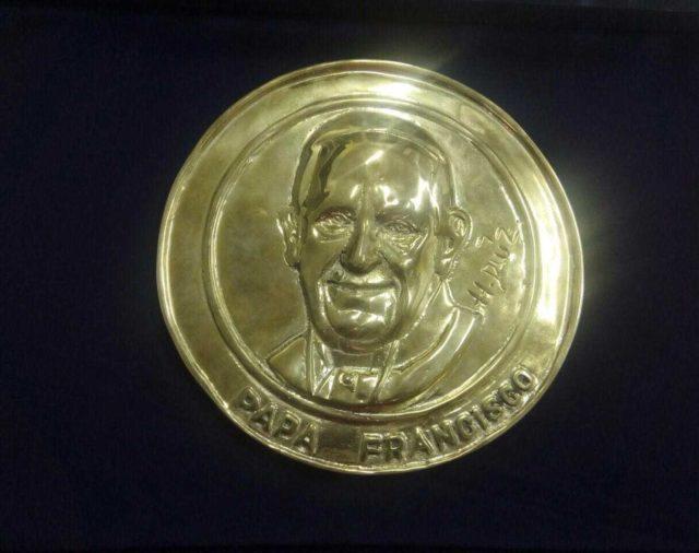 El Papa Francisco tendrá moneda especial en su visita a Colombia