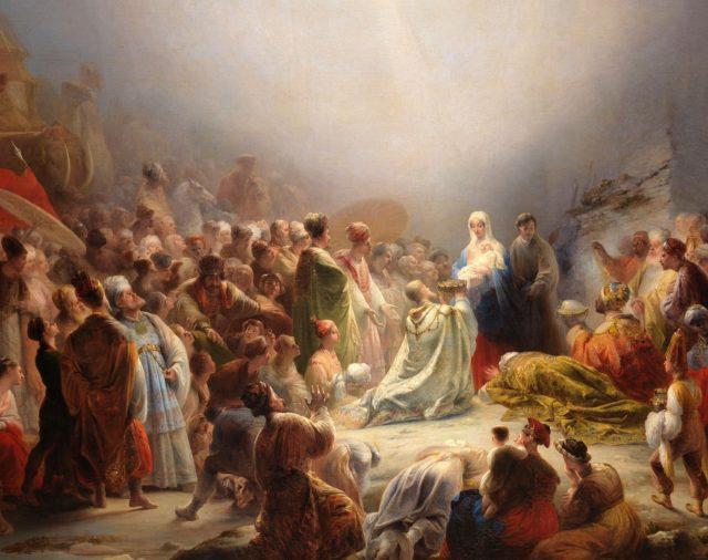 11. Los Magos, los Inocentes y Egipto