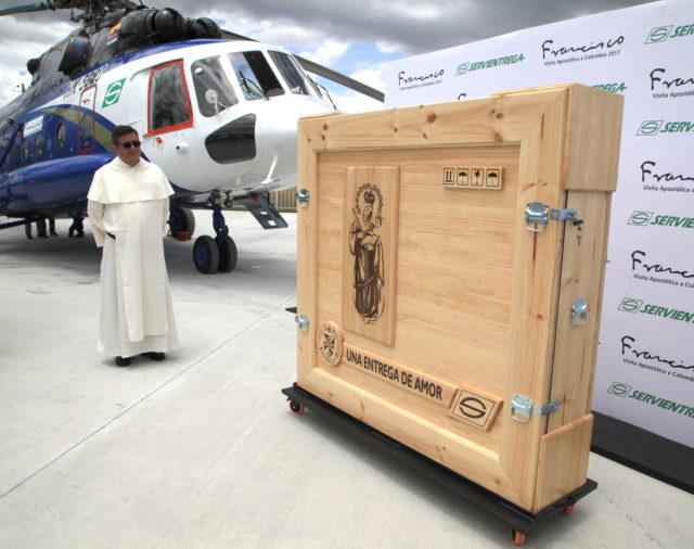 El primero de septiembre la Virgen de Chiquinquirá llegará a Bogotá