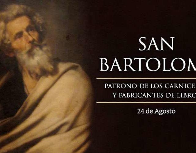 Agosto 24   San Bartolomé