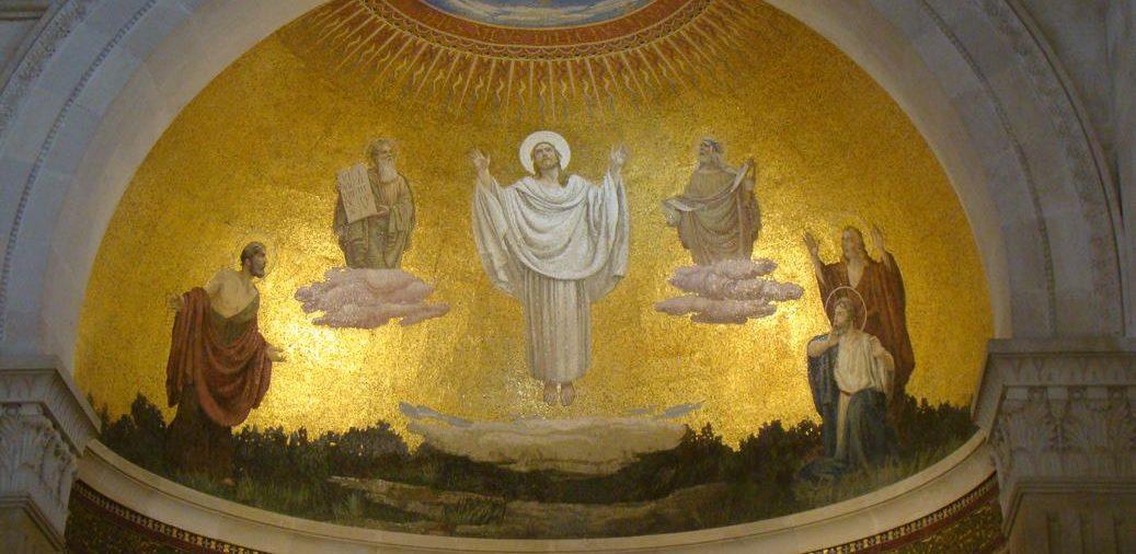 71. En el Tabor. La Transfiguración