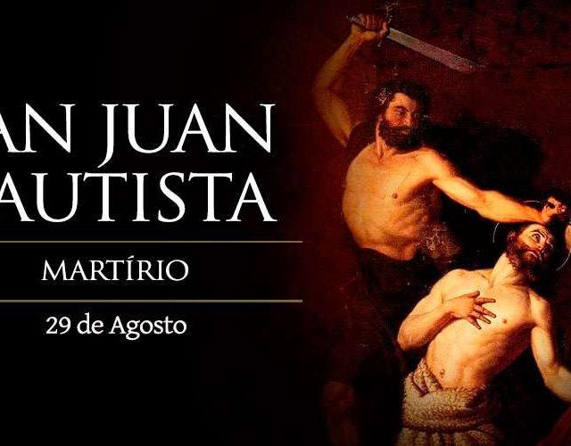 Agosto 29   Martirio de San Juan Bautista