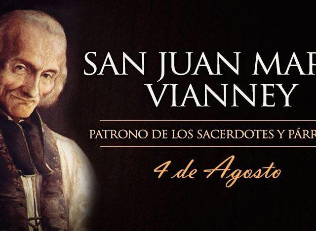 Agosto 4 | San Juan María Vianney