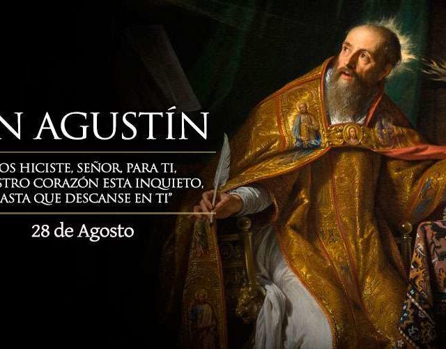 Agosto 28   San Agustín