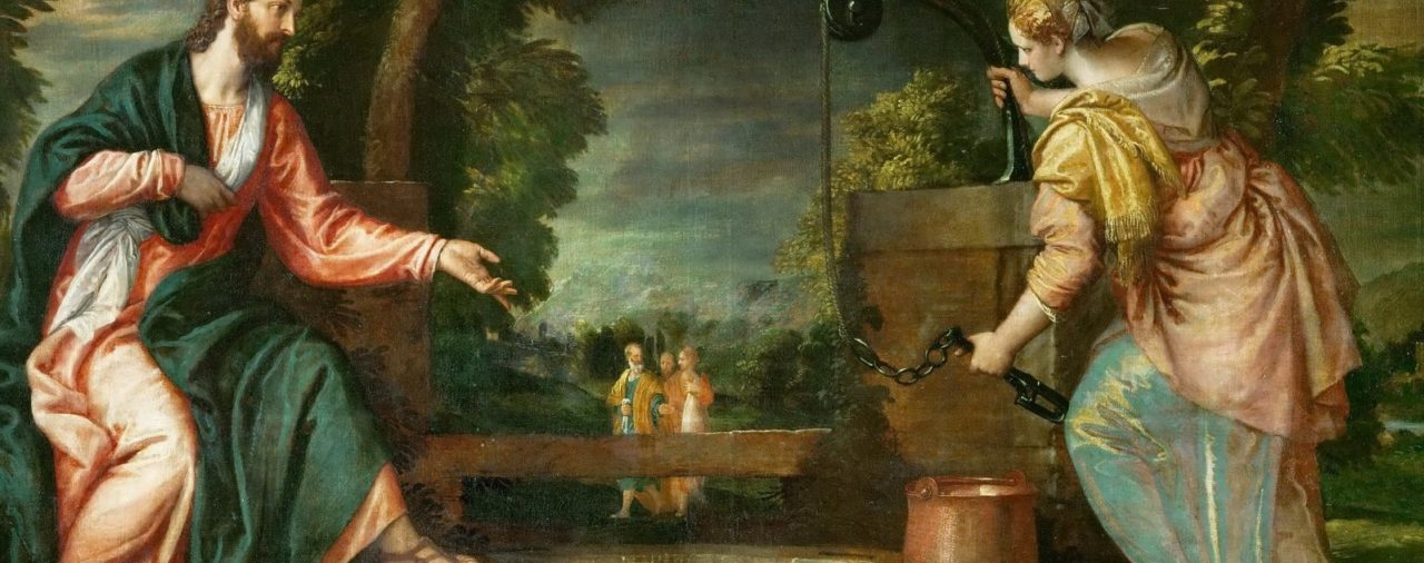 30. Jesús con la Samaritana
