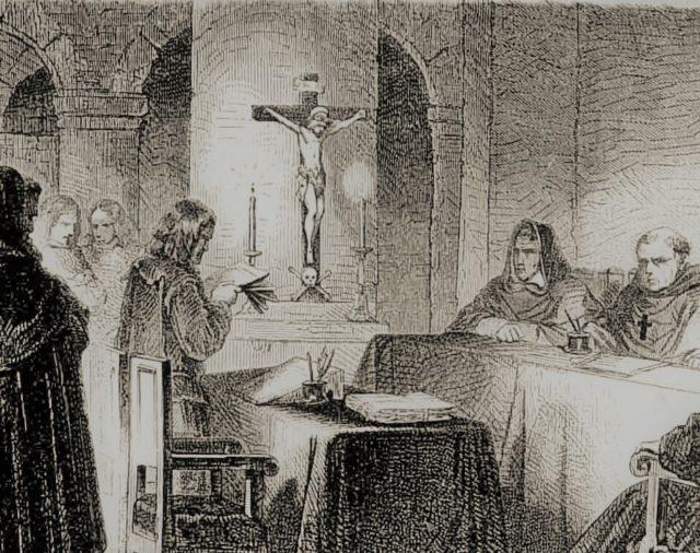 58. Aparece la inquisición