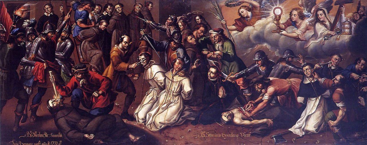 106. Mártires bajo el protestantismo