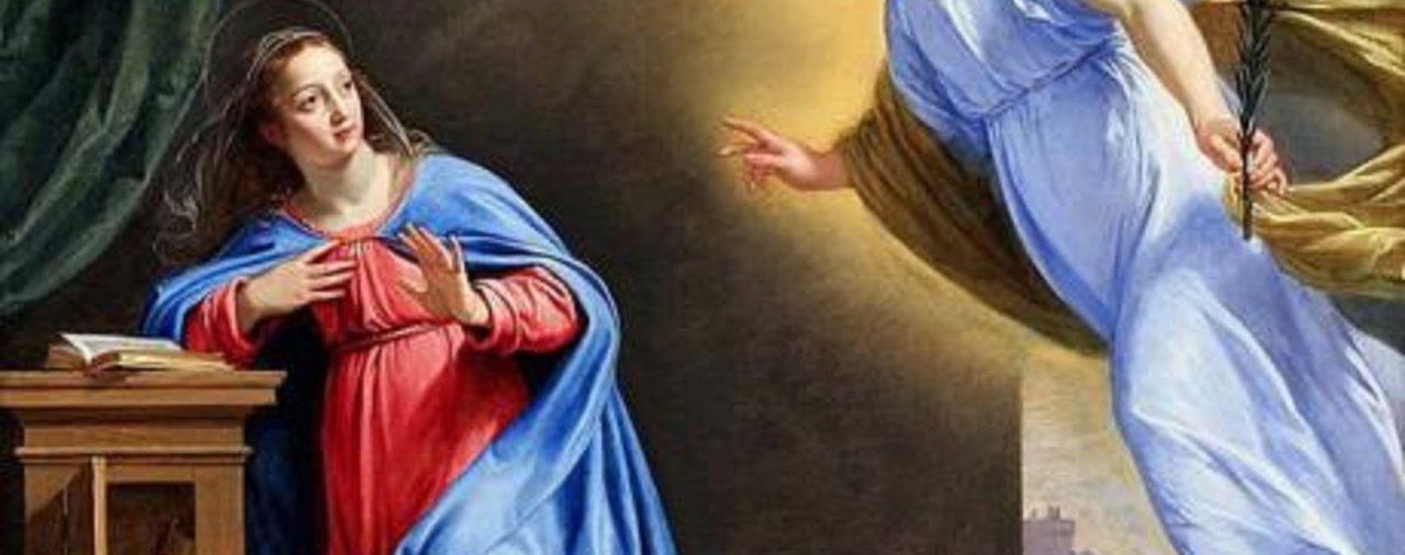 9 de abril | Solemnidad de la Anunciación del Señor
