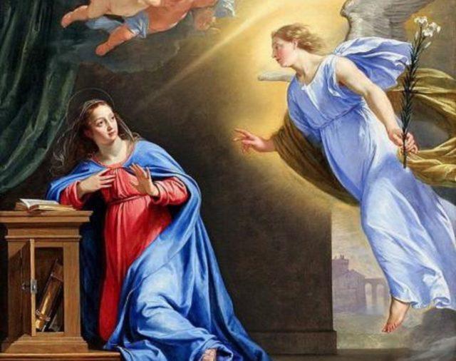 9 de abril   Solemnidad de la Anunciación del Señor